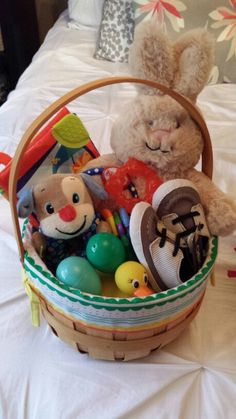 Everythings hunky dorey easter basket ideas for infant girl everythings hunky dorey easter basket ideas for infant girl holidays easter pinterest basket ideas easter baskets and easter negle Image collections