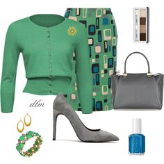 Grey by dmiddleton on Polyvore featuring M Missoni, Jeffrey Campbell, Lanvin, Blu Bijoux, Philippa Roberts Jewelry, Eclectica, Clinique, Essie, women's clothing and women's fashion