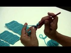 This video is AWESOME.  Teaches the 5 basic crochet stitches.