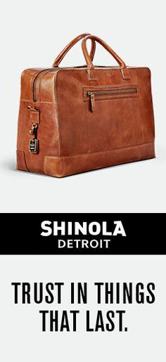 5b8085fdda91 Shinola - Bedrock Duffle In Harness Nylon Bag