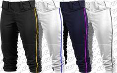 Worth FPEX ® Womens Plush Fastpitch Softball Pants w. Piping