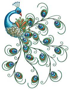 Regal Art & Gift Pretty Peacock Wall Decor