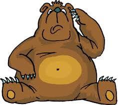 Bear! Crisps are bad bear choice!