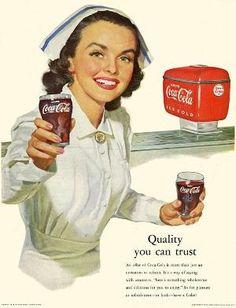 Vintage Coca-Cola Ad by helena