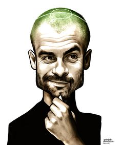 Nessun allenatore nasce imparato o Pep Guardiola Pep Guardiola, Football Icon, Football Art, Football Players, Funny Caricatures, Celebrity Caricatures, Cartoon Faces, Cartoon Styles, Sports Art