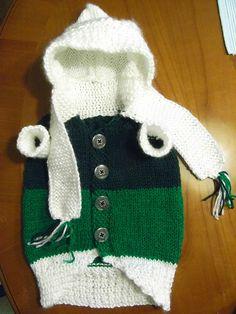Hunde Mantel Pullover Stricken*Dog Coat*Knitting*Fashion for Dogs*Tutori...