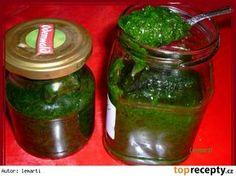 Pesto z medvědího česneku recept - TopRecepty. Pesto Dip, Thanksgiving Pies, Marmalade, Pork Chops, Chutney, Preserves, Kimchi, Pickles, Cucumber