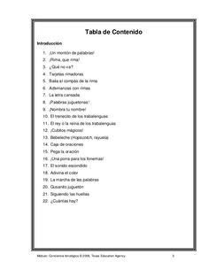 78967515 conciencia-fonologica Speech Therapy Activities, Language, Classroom, Speech Pathology, Alphabet, Phonological Awareness, Autism Activities, Read And Write, Table Of Contents