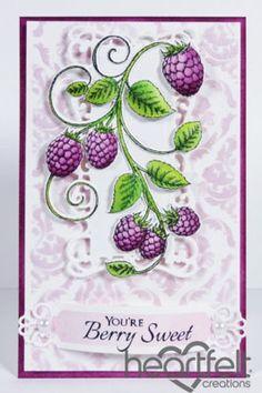 Heartfelt Creations   Raspberry Vine
