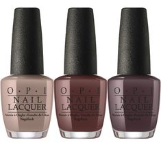 Icelanded in a Bottle of OPI, That's What Friends are Thor and Krona-Logical Order (Iceland by OPI Fall Winter 2017 Collection)