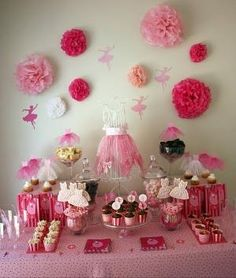 Girl party ideas by Macarena Kreps