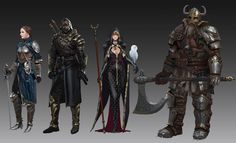 ArtStation - fantasy characters, Kim Eun Chul