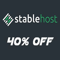 Hosting inStableHost is not limited bandwidth, and especially the PRO package without limiting the number of domains.There isa 50% discountcouponfor…