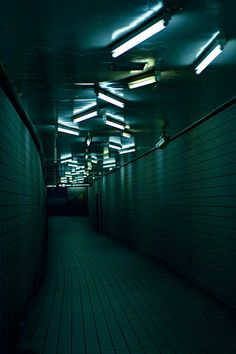 """Underground"" by The Silent Infinite - Tokyo, Japan Story Inspiration, Writing Inspiration, Rite De Passage, Tokyo Subway, The Wicked The Divine, Neon Noir, Ex Machina, Neon Lighting, Art Photography"