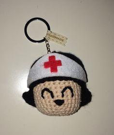 Enfermera llavero