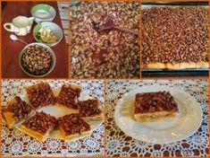 Křehký jablečný koláč s karamelem a ořechy Waffles, Cereal, Breakfast, Food, Morning Coffee, Essen, Waffle, Meals, Yemek