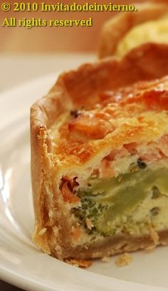 The Winter Guest: Broccoli, salmon and manchego quiche The Winter Guest, Broccoli, Salmon Quiche, Manchego Cheese, Cook Up A Storm, Tart Recipes, Bread Baking, Good Food, Eat