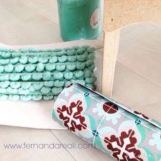 Artesanato com pintura e colagem de tecido em MDF. Painting, colors, fabric