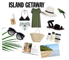 """Beach"" by yumyv ❤ liked on Polyvore featuring Free People, Benefit, Patagonia, Tory Burch, Gap, Janessa Leone, philosophy and Ace"