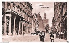 Old Photographs, Photos, Beautiful Buildings, Poland, Street View, Photo And Video, Black And White, City, Google