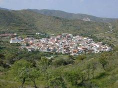 Benizalon in the area of Almeria Almeria Province Spain.