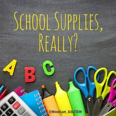 A Numerical Journey: School Supplies, Really?