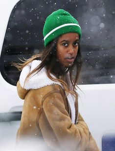 Since exiting the White House, Malia Obama has been busy being a typical teen (sorta). The 18-year-old opted for a gap year between high school and Harvard, and has been doing typical teen things with her time off like interning and hanging with friends.