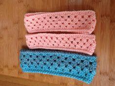 Crochet headbands for kids