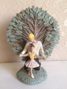 "Tree of Life Green Resin Father Daughter Ballerina Tutu Tiny Dancer Figurine 7""   eBay"