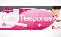 Twin Pack Clear Response Early Result - Pregnancy Test