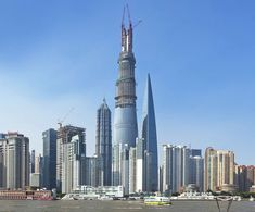 The Shanghai Tower reached its full height of 634 meters, with the topping-out ceremony held in skies over the Pudong Financial District on Saturday. The bui...