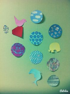 Pattern, animal garland