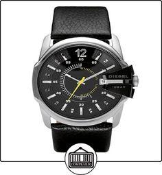 f79da7318053 Diesel DZ1295 - Reloj analógico de cuarzo para hombre con correa de piel