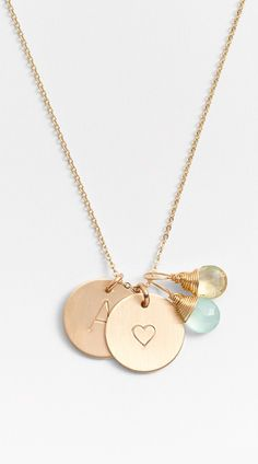 Personalized charm necklace http://rstyle.me/n/v5scnn2bn