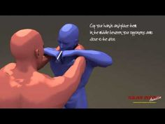 Tutorial Krav Maga Defense Against Chokes and Grabs, Simultaneous Counterattack - YouTube