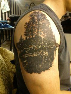 Lapland Tattoo by magalacrima Tattoos, Norse Tattoo, Tatuajes, Tattoo, Tattos, Tattoo Designs