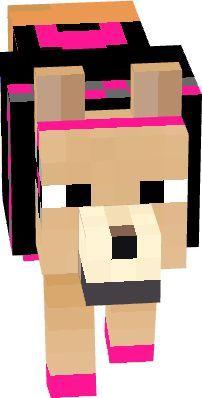 Minecraft Skins Gamer Girl, Minecraft Skins Female, Minecraft Wolf, Minecraft Baby, Minecraft Anime, Creeper Minecraft, Minecraft Bedroom, Minecraft Houses, Minecraft Decorations