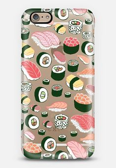 Sushi Fun by Kristin Nohe iPhone 6 Case | Casetify