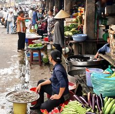 Market in Ho Chi Minh City, Vietnam