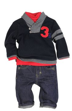 Baby boy outfit - cute!