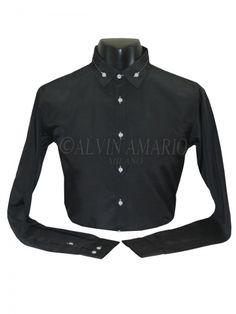 Mens Designer Black Colour Stylish Casual formal Party Wear shirt