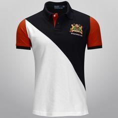 Camisa Polo, Givenchy Jacket, Office Uniform, Uniform Design, Polo T Shirts, Color Blocking, Shirt Designs, Polo Ralph Lauren, Dressing