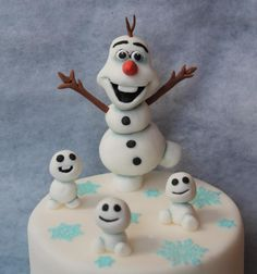 Olaf with his baby's  by Petra