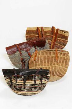 Urban Renewal Vintage Straw Market Bag Online Only