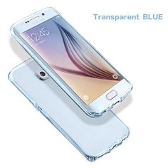 For Samsung Galaxy A3 A5 J5 2016 S4 S5 S6 S7 Edge Case Note 5 Cover Soft TPU Full body Protective Crystal Clear front back Cases