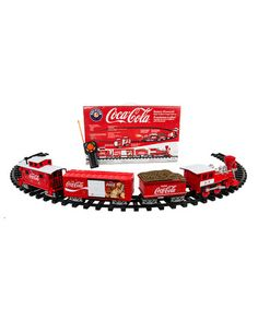 Another great find on #zulily! Lionel Trains Coca-Cola Holiday Train Set #zulilyfinds