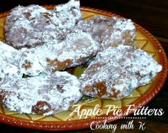 Cooking with K   Southern Kitchen Happenings: Apple Pie Fritters