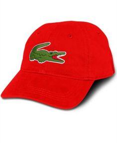 2f05311839d LACOSTE Lacoste Men S Large Croc Gabardine Cap.  lacoste   hats