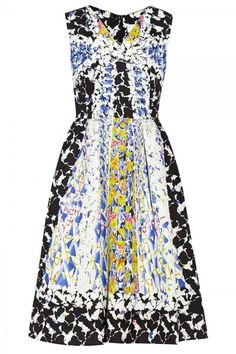 Peter Pilotto RH Printed Silk Blend Cloque Dress, £1,155