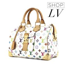 Bolsa #LouisVuitton Speedy 30 Monogram Color por 3x de R$ 1.384,00 sem juros!  #_prettynew #ShopOnline #Speedy30